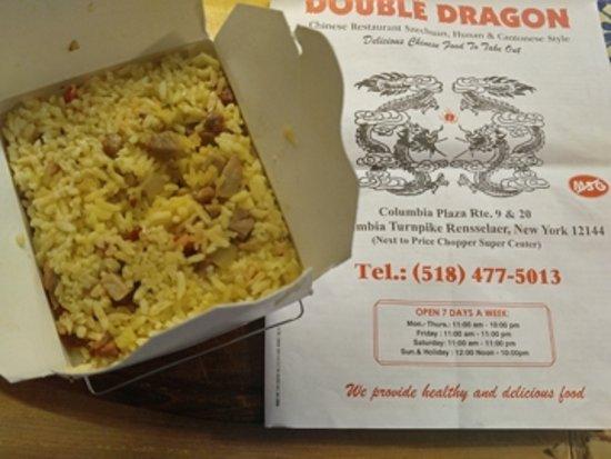 The Menu Picture Of Double Dragon East Greenbush Tripadvisor