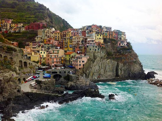 Риомаджоре, Италия: Most photographed town - Manarola