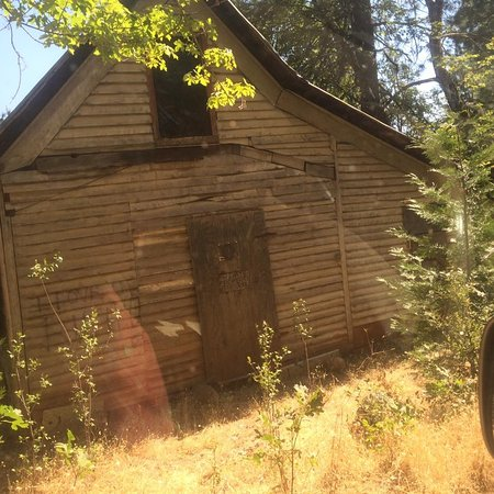 Washington, CA: Ghost at the Ghost town.... seemed kinda strange ....