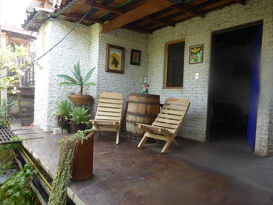 Casa Giron: Upstairs lounge area