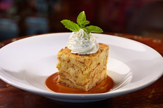 House of Blues Restaurant & Bar New Orleans: Bourbon Bread Pudding