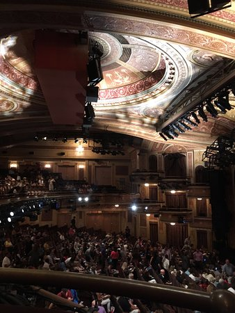 Inside Winter Garden Theatre Picture Of School Of Rock The Musical