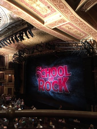 school of rock the musical winter garden theatre - Winter Garden Theater Nyc