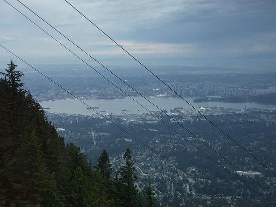 Nord-Vancouver, Canada: Vista a partir do teleférico.
