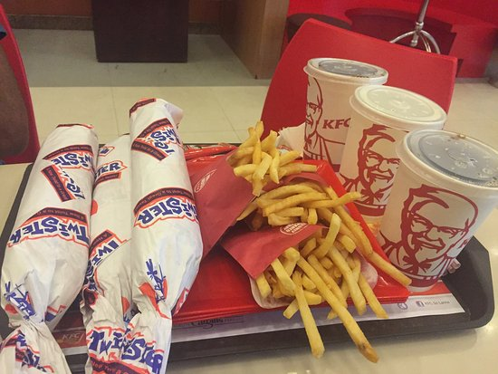 Fast food it's not - Review of KFC Kandy, Kandy, Sri Lanka