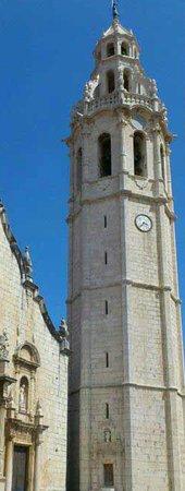 Alcala de Xivert, Hiszpania: Torre del campanario