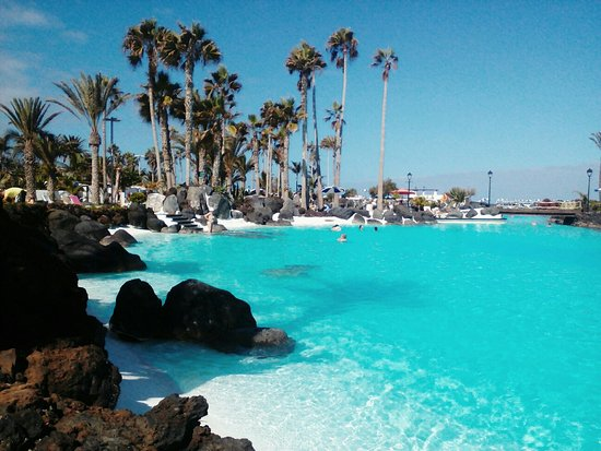 Beautiful Pools beautiful pools with the sea water - picture of costa martianez