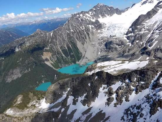 Pemberton, Καναδάς: Spectacular view of the Joffre Lakes and Glacier with Cayoosh Expeditions