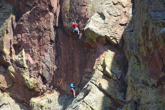 Eldorado Springs, CO: rock climbers