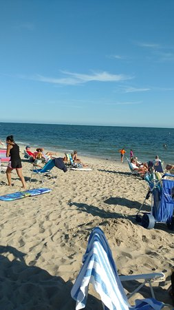 West Harwich, MA: Beach at the end of the road- a short walk