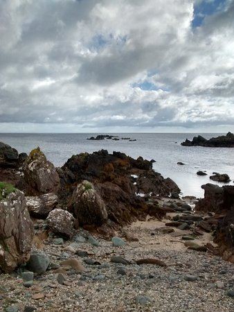 Greencastle, Ιρλανδία: beach at the lighthouse