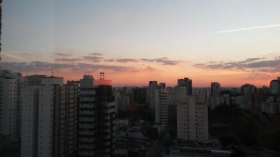 dc6143c33e243  Ibis Budget Sao Paulo Paraiso   Por do sol em SP