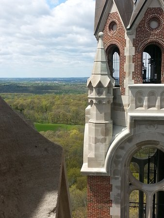 Hubertus, WI: view of countryside from the tower