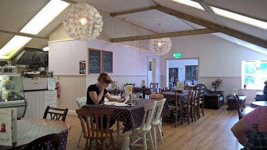 Moylegrove, UK: The Cafe ..
