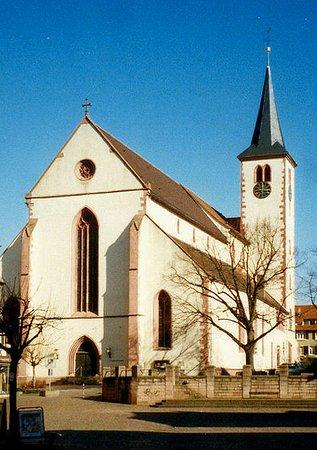 Mosbach, Duitsland: Stiftskirche St.Juliana