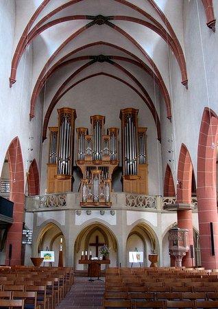 Mosbach, Deutschland: evangelische Stiftskirche