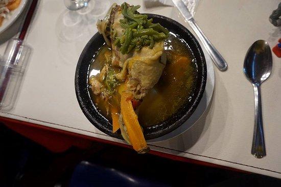 Calera de Tango, Chile: 美味道地的智利餐。