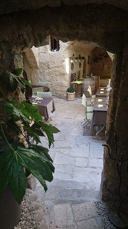 Le Bec a vin : terrasse