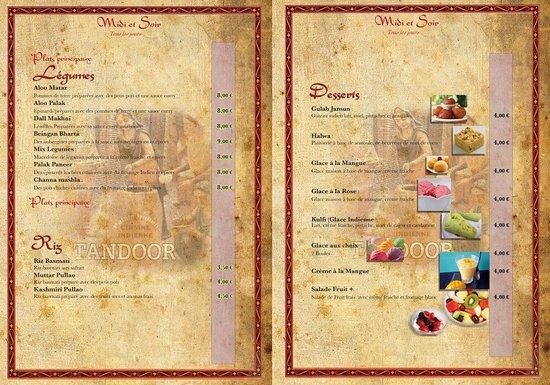 desserts picture of palais indien voiron tripadvisor. Black Bedroom Furniture Sets. Home Design Ideas