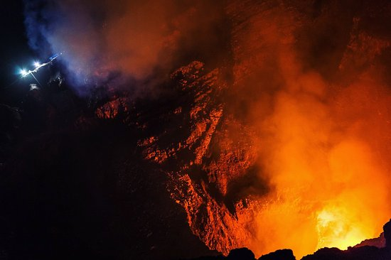 Nicaragua Adventures - Day Tours: National Geographic were there investigating the volcano activity