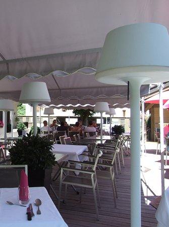 Altis Val Vert Hotel : terrasse du restaurant