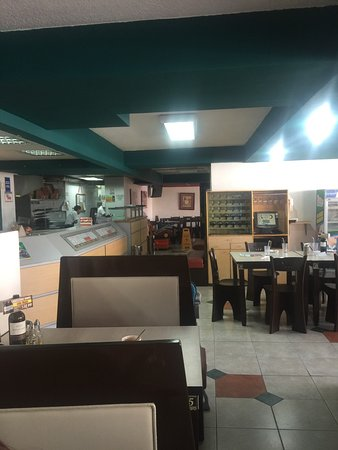 Provincia de Pichincha, Ecuador: General view of the Restaurant