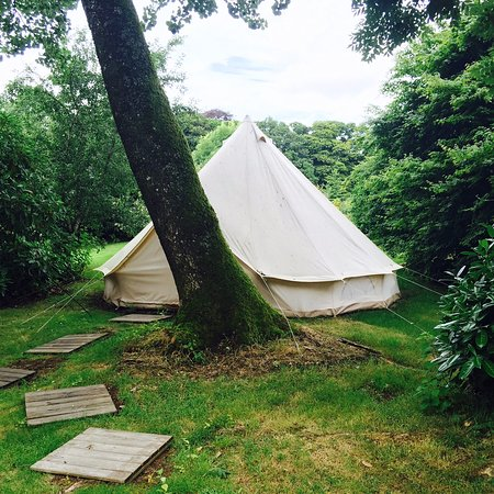 Ballyvolane House: Glamping tent
