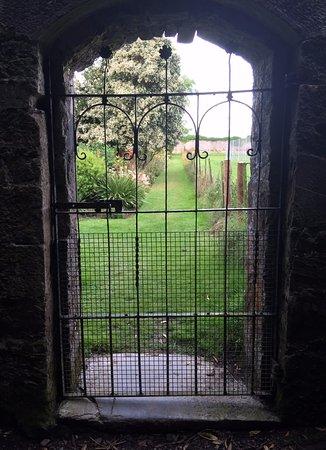 Ballyvolane House: Garden gate.