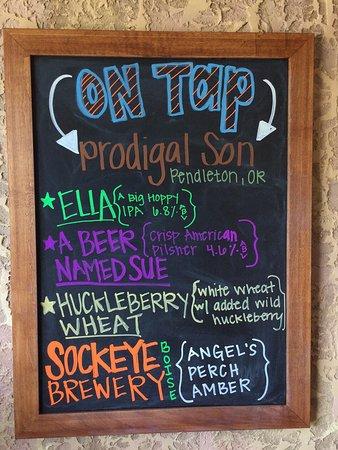 Ontario, Oregón: Local craft beers!