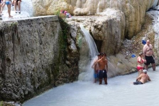 Terme naturali foto di fosso bianco bagni san filippo - Bagni s filippo ...