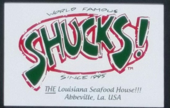 Abbeville, Луизиана: Shucks The Louisiana Seafood