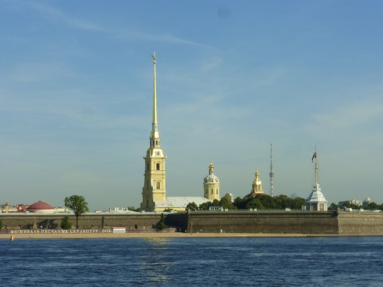 UlkoTours -Day Tours: Cathedral of Peter and Paul from River Neva