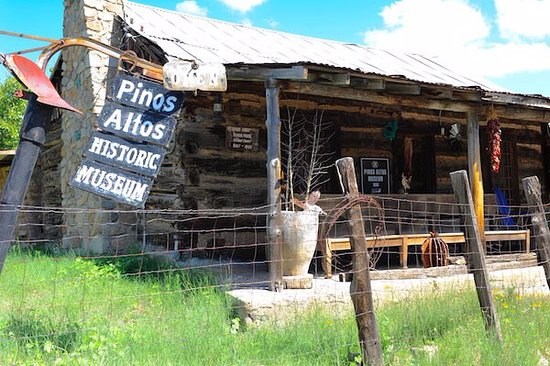 Pinos Altos, NM: Across the street from the Buckhorn Saloon