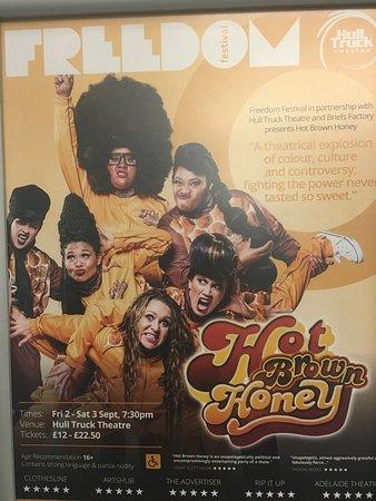 Hull Truck Theatre: Hot Brown Honey tonight at HTT - absolutely fantastic 😂😂😂😂😂😂