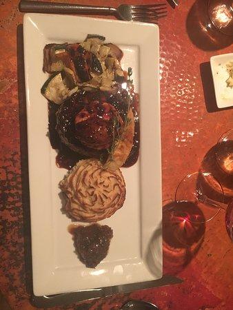 Desert Bistro: Tenderloin wrapped in bacon
