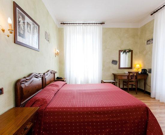 The Andrea Bregno Room at the Albergo Ristorante La Torre