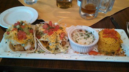 Rhinelander, WI: Yummy fish tacos