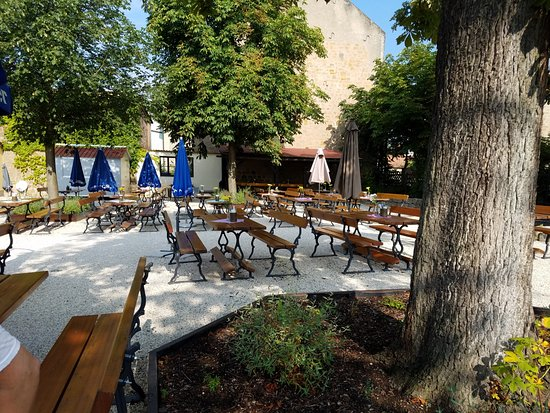Zeil am Main, Niemcy: beer garden