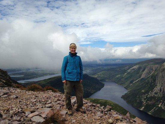 Gros Morne National Park: On the back side after Gros Morne summit