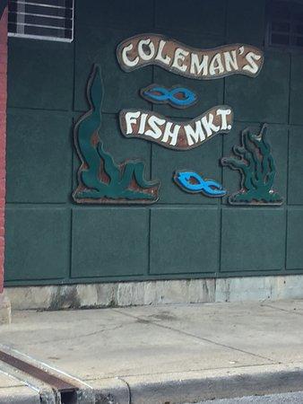 Coleman 39 s fish market for Coleman s fish