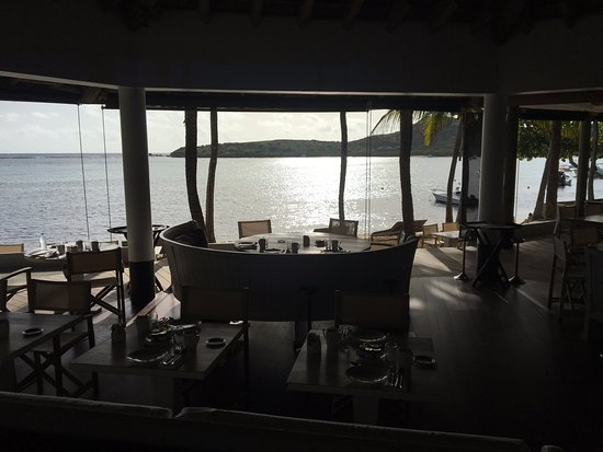 Le Sereno Restaurant: View from breakfast