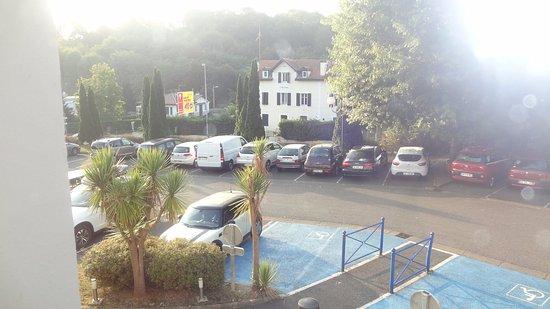 Ibis Budget Biarritz Anglet : vista do quarto