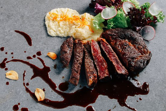 Kudos: Premium Beef Ribeye with Truffle Mashed Potato