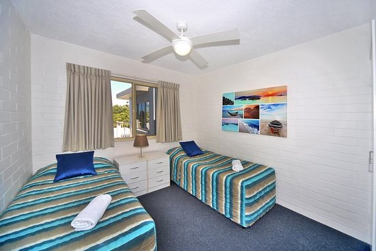 Coolum Beach, Австралия: Twin Room
