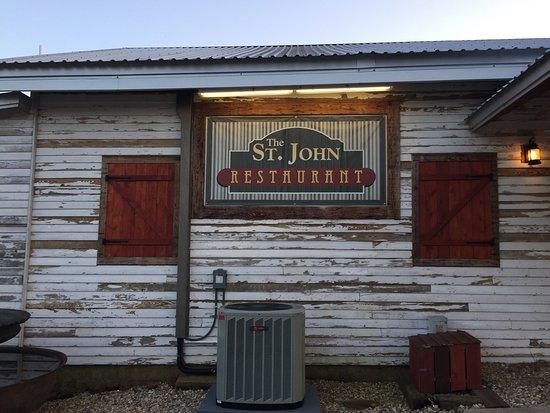 Saint Martinville, LA: Boudin stuffed pork loin