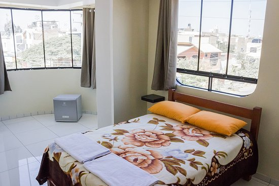 Ica Wasi Hospedaje : DOUBLE BEDROOM