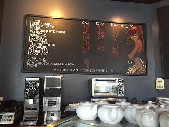 Caffe Zingaro: Menu
