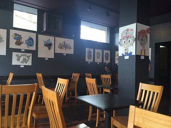 Caffe Zingaro: Inside