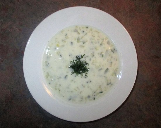 New Britain, CT: Chilled Cucumber Soup: Very Interesting