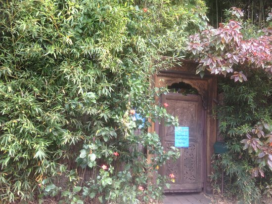 Kiva Spa and Bathhouse Mullumbimby: the front door